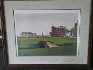 St. Andrew golf club ( Scotland) framed picture