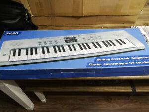 54-key electric keyboard