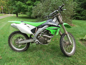 2006 Kawasaki KX450F Liquid Cooled Four Stroke