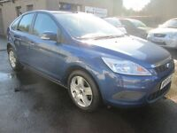 Ford Focus 1.8 STYLE - ONLY 56714 MILES - BUY NOW PAY IN 6 MONTHS - (blue) 2009