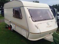 Elddis wisp 450ct 4 berth caravan & full awning