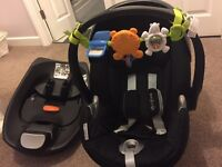 Cybex car seat and base