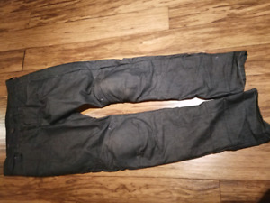 Authentic men's BMW Motorrad motorcycle  jeans with armour 32/34