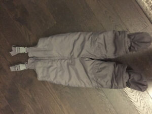 Snow suit overalls, size 18-24 months   brand new