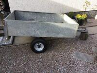 Galvanised 5ft x 3 1/2ft trailer