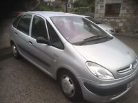 2003 CITREON PICASSO 1,6 lx 5 door .(TO CLEAR £375)
