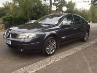 RENAULT LAGUNA GT 205 TURBO 2007 FULLY LOADED SAT NAV YEAR MOT DRIVES LOVELY
