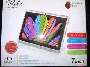 "BRAND NEW iRola 7"" 8GB Android tablet"
