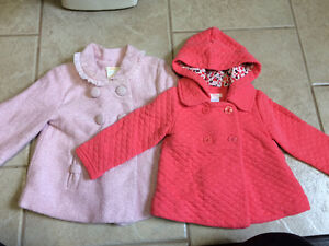 Two Sweet Fall Jackets 12-18m