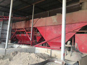 Concrete batch plant c/w pan mixer