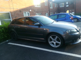 AUDI A3 (2005) 2.0 Diesel, Grey/Slate & Red Leather Interior
