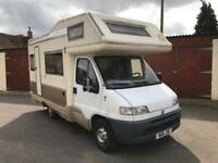 CI Meridian 6 Berth Motorhome PX to Clear