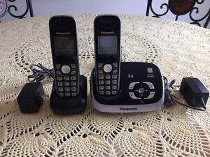 Téléphone sans-fil Panasonic avec répondeur