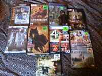 A bunch of pc games for sale