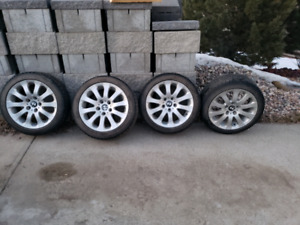 "17"" BMW 159 Rims and Tires"