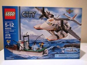Lego City - L'avion des garde-côtes (Coast Guard Plane) 60015