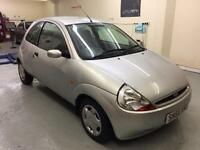 Part exchange to clear : 1 lady owner FORD KA 1.3 low mileage high specs