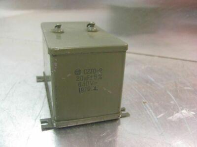 Series Steel Oil Capacitor Czjd-2 630v 20uf 5