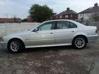 BMW 525D 2.5 2002 Diesel Excellent drive Auto bargain! Not Mercedes golf Audi