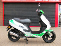 BAOTIAN BT49 QT-9R APOLLO 50 12 SCOOTER 2015 ONE LADY OWNER FDSH HPI WARRANTY