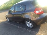 Bmw 1 series with low mileage