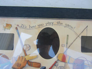 """""""It's How You Play the Game"""" Photo Frame Kitchener / Waterloo Kitchener Area image 2"""