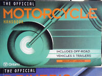 THE OFFICIAL MOTORCYCLE DRIVER'S HANDBOOK ONTARIO