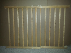 Baby Gate : Wooden : As shown