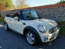Mini Convertible Petrol 2009 Air Con Full History White cabriolet