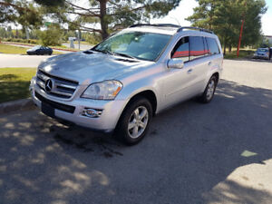 2007 Mercedes GL450, AWD, 7 pass,LEATHER, Navigation,151,000 km.