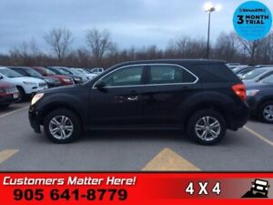 2011 Chevrolet Equinox LS  AWD ON-STAR PWR-GROUP ALLOYS