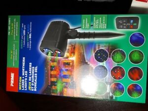 BRAND NEWGREEN AND BLUE LASER MULTI COLOUR LED LIGHTS