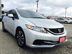 Honda Civic EX | Super Low KM & Price | 10,021KM |Screen|Camera