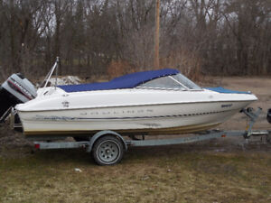 1998 Bayliner 18 foot bowrider reduced to 5500.