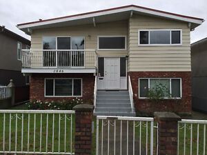 Three bedroom basement suite in Collingwood area of Vancouver