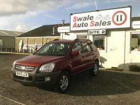 2006 KIA SPORTAGE XE CRDI 2L 4X4 FULL SERVICE HISTORY - GREAT CONDITION