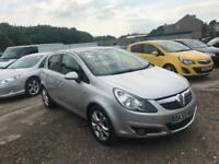 2009 59 Vauxhall Corsa 1.2 Sxi A/C Petrol 5 Door 5 Speed Manual