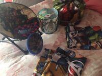 Avengers full bedroom set.