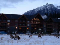 Mountain View Canmore Condo 2 bed/2 bath