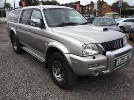 2004 MITSUBISHI L200 Double Cab TD Warrior 4WD 113Bhp 4X 4 DIESEL FULL LEATHER
