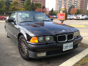 1996 BMW 328IC Convertible with hard top