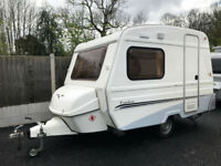 Freedom Sunseeker 3 Berth Lightweight Caravan with Awning 2012