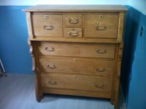 Chest of Drawer & French Doors misc