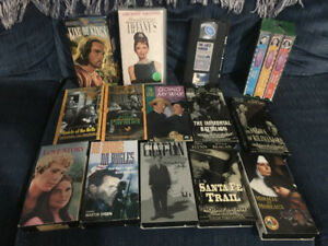 40 VHS Movies - some of the classics of our time