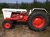 Tracteur David Brown Case 1210!