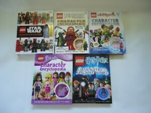 Lego Character Figure Identification Books