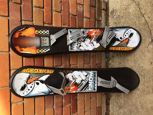 2 beginner snow boards