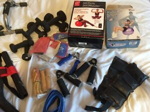 Misc work out stuff for sale