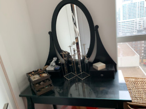 IKEA hemnes dressing table / vanity -- very light usage
