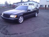 Wanted Mercedes w140 S class